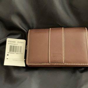 COACH Multi-Case Brown Leather